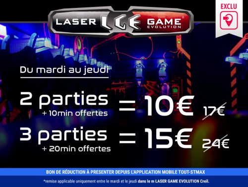 Le laser game evolution saint maximin creil for Stokomani st maximin