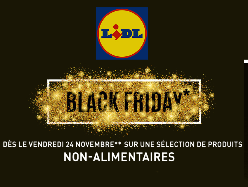 Promotion Lidl : Black Friday